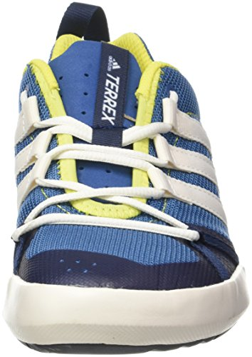 adidas Herren Terrex CC Boat Trekking & Wanderhalbschuhe Blau (Core Blue/chalk White/bright Yellow)