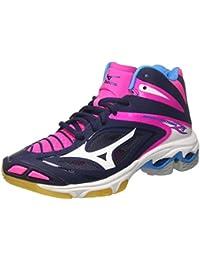 Mizuno Wave Lightning Z3 Mid W, Zapatos de Voleibol para Mujer