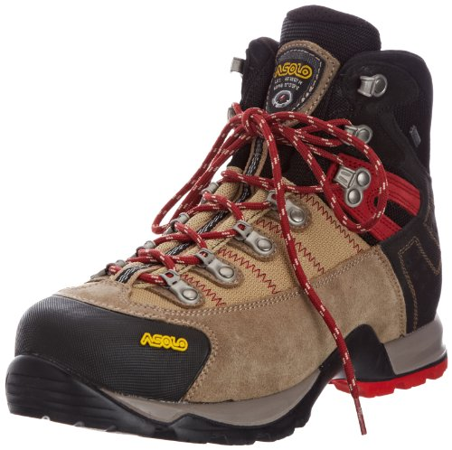 Asolo  Fugitive GTX,  Herren Trekking- und Wanderstiefel , Beige - Wool/Black - Größe: 45 Asolo Fugitive Gtx