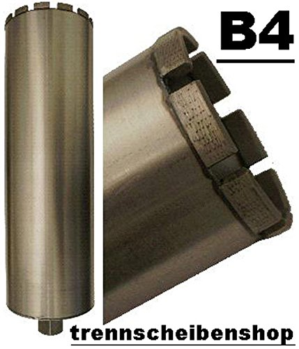 Preisvergleich Produktbild Diamantbohrkrone, B4_Bohrkrone Ø 182 mm. 15 Dachsegmente NL. 450 mm. Aufnahme 1 1/4. Lasergeschweißte 10 mm. Alle Betonprodukte, KS hochverdichtet usw. Super Premium.