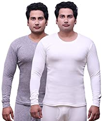 Selfcare Set Of 2 Mens Full Sleeve Thermal Top