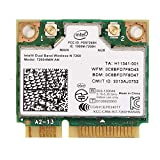 Intel Dual Band Wireless-AC 7260 Adaptateur réseau PCI Express Half Mini Card 802.11b/802.11a/802.11g/802.11n/802.11ac(wifi)