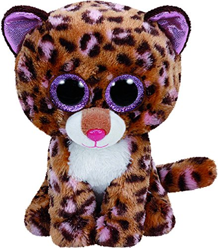Beanie Boo Leopard - Patches - Brown - 15cm 6""