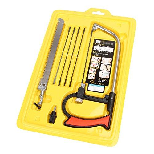 Alftek Mehrzweck Hobby Werkzeug 8 in 1 Geistige Magie Sahensäge DIY Handsäge für Holzbearbeitung Sägen Set Kit (Kurven-nagel-kit)