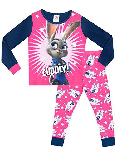 Disney Zoomania Mädchen Zoomania Schlafanzug 140