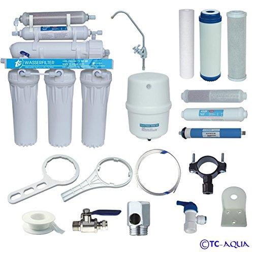 Umkehrosmose - Aquamarin RO 6 mit Mineralfilter - Wasserfilter