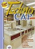 Techno CAP cuisine de Michel Maincent-Morel,Robert Labat,Richard Leman ( 1 janvier 2003 )