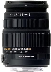 Sigma Zoom 50 200mm 50 200 Mm 4 5 6 Dc Os Hsm Für Nikon Kamera