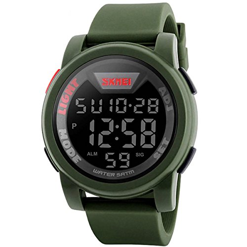 Relojes hombre digital reloj de pulsera militar deportivo para hombres