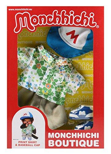 Sekiguchi 254720 - Monchhichi Boutique A3 Hawaii - Hemd und Cappie