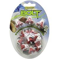 Champ Bolt Footbal Studs - Red/White