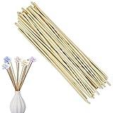Holzöl Diffusor Rattan Reed Sticks Raumduft, Ishua 50 Stück
