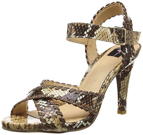 Giudecca Jycx15j23-1, sandales ouvertes femme beige (Apricot)