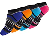 8 Paar Coole Sneaker Socken für Kids in verschiedenen Farben