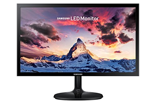 Samsung S19F355 19-Inch LED Monitor - Black