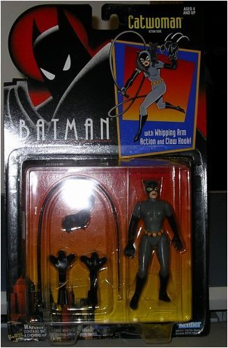 Batman: The Animated Series CATWOMAN 5 Action Figure (1993 Kenner)