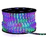 LED Lichterschlauch Lichtschlauch Beleuchtung 8m bunt multi 8 meter + Zuleitung