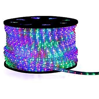 Zuleitung LED Lichterschlauch Lichtschlauch Beleuchtung 16m bunt multi 16 meter