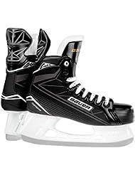 Bauer Hombre Supreme S 140Senior–Patines de hockey sobre hielo para, hombre, BAUER Schlittschuh Supreme S 140 Senior, negro / plata, 07.0