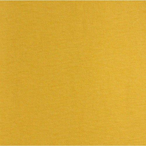 badtex24 Spannbettlaken 90 100 x 200 Spannbetttuch Bettlaken Jersey 100% Baumwolle 20 Farben Maisgelb 90x190-100x200cm - 2
