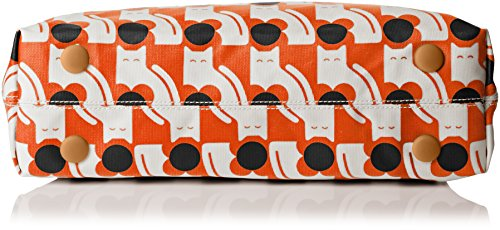 Orla Kiely  Classic Zip, Sacs portés épaule femme Orange - Orange (Persimmon)