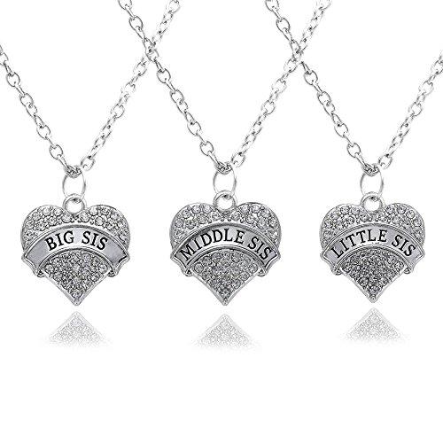 lot-de-3colliers-pendentif-en-forme-de-cur-argent-cristal-transparent-big-middle-little-sister-lovec
