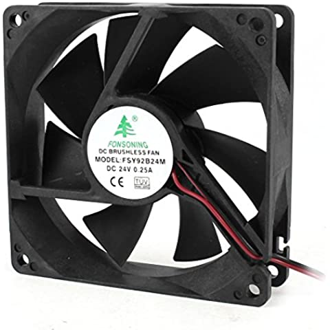 92x25mm 9225 DC 24V Brushless CPU Cooler Ventola Di Raffreddamento