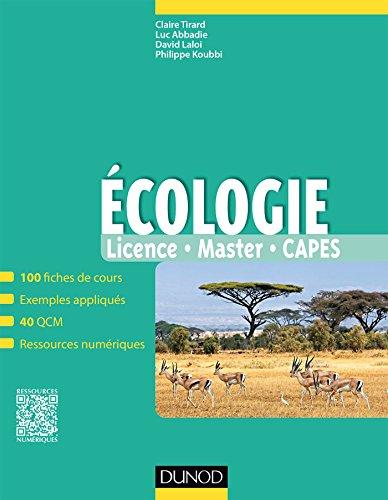 Ecologie : Fiches de cours, questions de révision et bonus web (Tout en fiches)