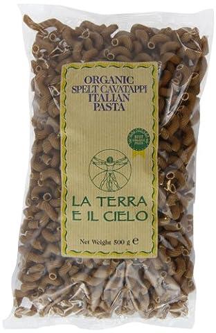 La Terra E Il Cielo Organic Spelt Cavatappi Pasta 500 g (Pack of 6)
