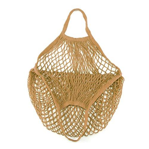 ONEVER 1pc Mesh-Netz Beutel String Einkaufstasche Wiederverwendbare Obst Gem¨¹se Lagerung Handtasche