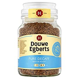 Douwe Egberts Pure Decaff Instant Coffee 95 g (Pack of 6)