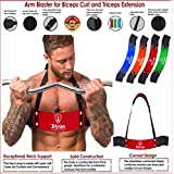 Arm Blaster-Heavy Duty Thick Gauge Aluminum-Bicep Blaster for Biceps and Triceps Workout-Ensures Faster Results-Isolator & Elite Muscle Arm Blaster for Bodybuilders & Weightlifters