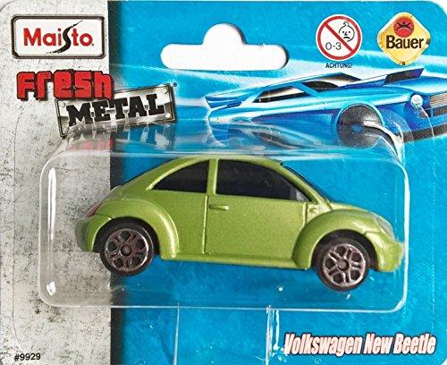 MAISTO® VW New Beetle - Volkswagen 1:64 - Farbe: OliveGrün