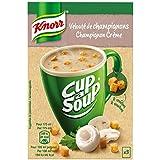 Knorr Soupe Instantanée Cup a Soup Velouté de Champignons 3 x 17 g