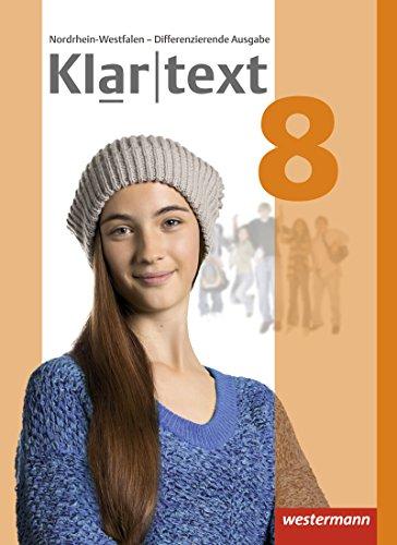 Klartext - Differenzierende Ausgabe 2014 für Nordrhein-Westfalen: Schülerband 8