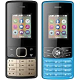 I KALL 1.8 Inch (4.57 Cm) Dual Sim Feature Phone Combo - K20 (Black) And K24 (Black)