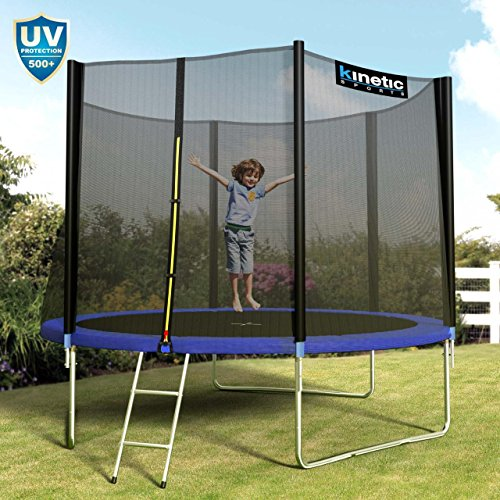 Kinetic Sports Outdoor Gartentrampolin Komplettset - 2