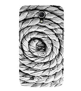 EPICCASE Rope spiral Mobile Back Case Cover For Samsung Galaxy Mega 6.3 I 9200 (Designer Case)