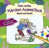 Mein erstes Märchenausmalbuch mit Pinsel und Farbpalette: Hänsel und Gretel