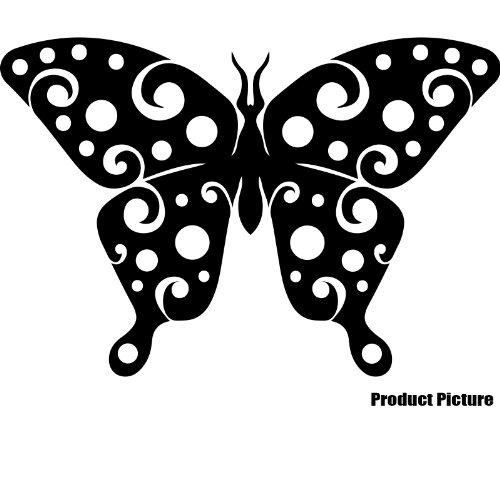 Mariposa (30cm x 20cm) elegir color 18colores en stock dormitorio, decoración, infantil, COCHE vinilo, Windows y adhesivo decorativo para pared, pared ventanas Art, Navidad dodoskinz, adorno adhesivo de vinilo ThatVinylPlace