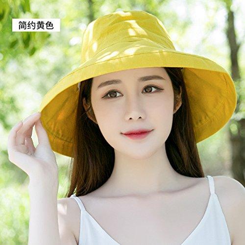 SAIBANGZI Chapeau de Soleil d'été Pêcheur Loisirs Hat Hat Beach Resort