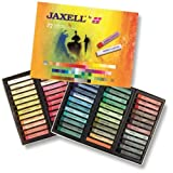 Unbekannt Jaxell 47648 Pastellkreiden, eckige Form, 72er pack