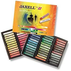 Crayones Jaxell Soft Pastel 47648 - Paquete de 72