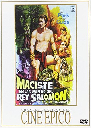 Maciste en las minas del rey Salomon [DVD]