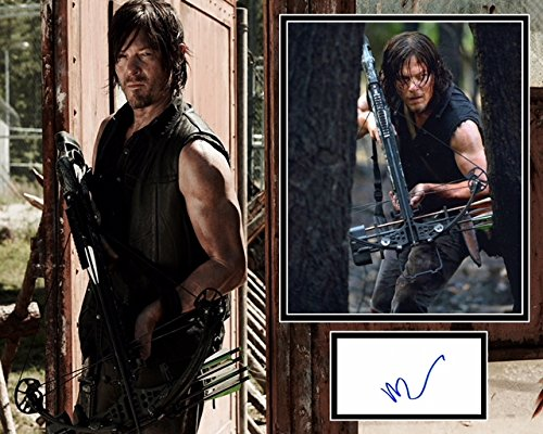 Price comparison product image Norman Reedus signed Mount - The Walking Dead - The Boondock Saints - 100% Authenticity guaranteed - In Person Dealer - UACC Registered 242