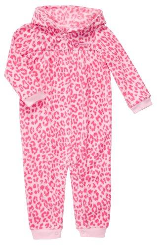 Carter's Overall Strampler rosa getigert Mädchen Einteiler Fleece girl (62/68) (Carters Fleece-overall)