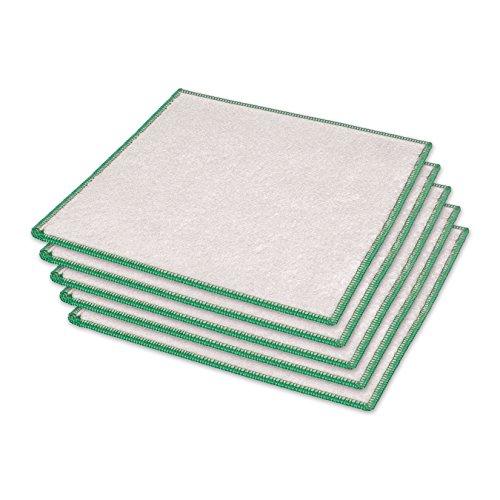 Maxxi Clean MILLIONENTEIL Bambus Tücher 5er-Set, waschbare Putztücher, umweltfreundliches Reinigungstuch, saugstarkes Geschirrtuch, reißfestes Allzwecktuch Bambusviskose