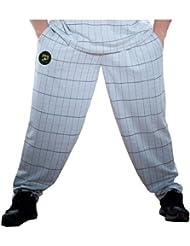 stilya Body Pantalon de Jogging pour Homme Loisirs Pantalon Bodybuilding * 1001* Gris Noir à carreaux