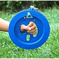 kingken tragbar outdoor Kite Line Winder Line String Flying Tools mit Lock (blau)