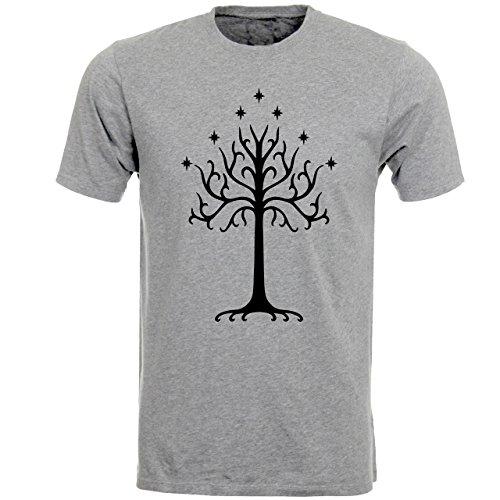 Fruit of the Loom Herren T-Shirt Grau - Grau/Grau